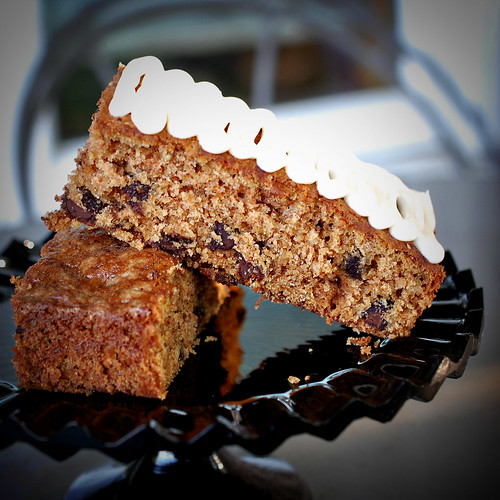 Oatmeal Chocolate Chip Cake with Cream Cheese Frosting Adapted From ...