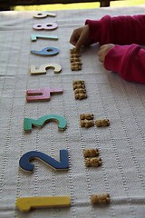 Numbers and Graham Teddy Counters (Photo from Chasing Cheerios)