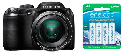 Fujifilm S4000 battery life