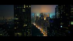 New York, October 2009 (Benjamin Venancie) Tags: california city longexposure usa newyork fog night movie streetlight glendale brouillard skycraper cinemactic