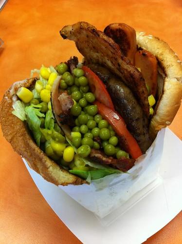 X-Coisas do Brasil sandwich