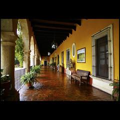 Hacienda El Carmen (uteart) Tags: mexico terrace colonial frontentrance haciendaelcarmen hotelspa utehagen uteart talaetzatlan haciendasruralesdejalisco