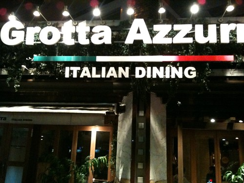 麻布十番駅すぐ近くのおしゃれなイタリアン@Grotta Azzurra