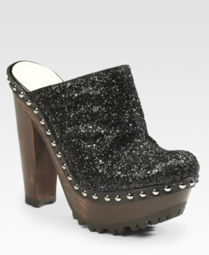 Miu-Miu-Glitter-Covered-Leather-Clogs