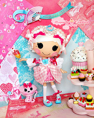 Introducing Ladure (Happily Candied) Tags: pink cute love film movie cupcakes doll pretty candy sweet chocolate oneofakind ooak vinyl kawaii sofiacoppola custom marieantoinette macarons ladure lalaloopsy suzettelasweet