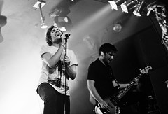 You Me At Six (SinadWeyer) Tags: blackandwhite music film live stage teeth gig band analogue kodakbw400cn middlesbrough northeast teesside nikonf80 kodakportra400 youmeatsix lowerthanatlantis deafhavana