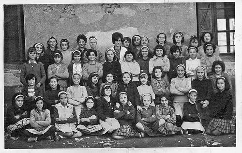 la escuela de Doña Mº Fe