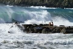 """""""The Place"""" (Rondlarg Photos) Tags: italien italy beach nature strand surf waves liguria natur menschen humans wellen levanto brandung ligurien"""