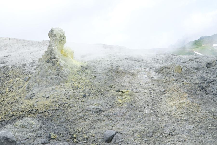 地獄谷|富山県中立山町