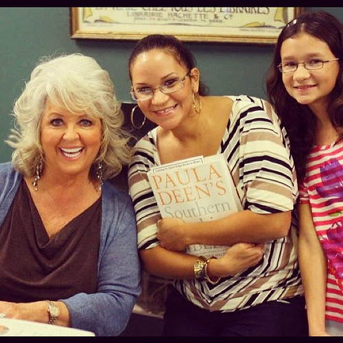 My daughter and I met Paula Deen y'a'll