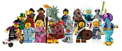 Series 6 Collectable Minifgs (The Acquaintance Crate) Tags: 6 lego series minifigs collectable minifgs