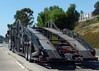 Car Carrier (Photo Nut 2011) Tags: california truck sandiego columbia freeway trailer carcarrier freightliner boydstun