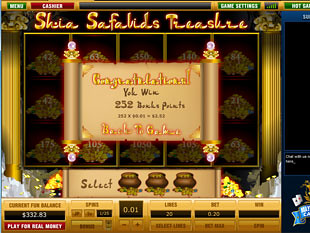free Shia Safavids Treasure slot bonus