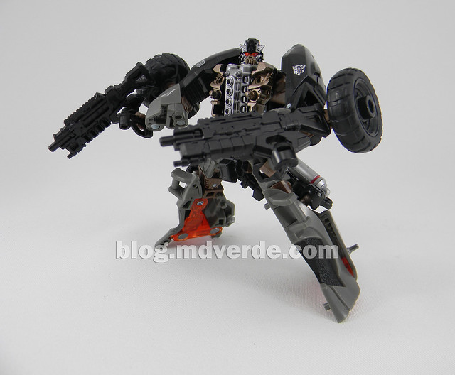 Transformers Backfire DotM Human Alliance - modo robot