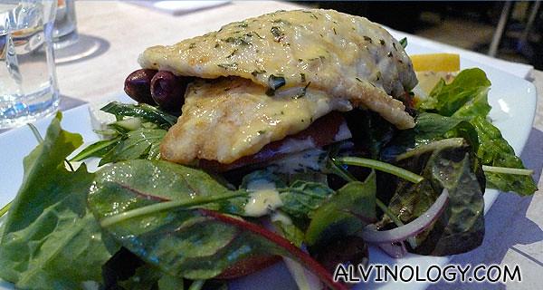 Duglass' dish, a fish main