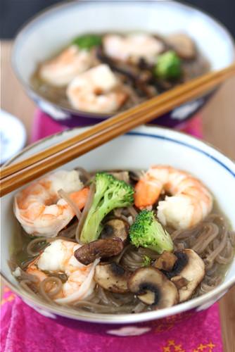 Shrimp Mushroom Soup 5