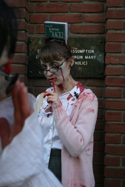 blog lovelymissmegs megan Toronto Zombie Walk