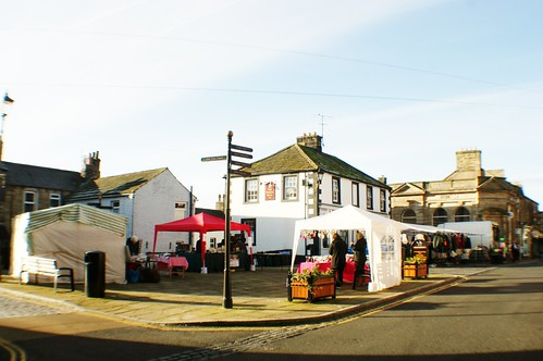View of Market at Haltwhistle