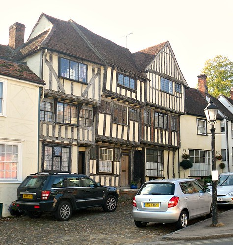 Timbered house in Thaxted