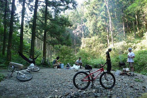 Bike'n BBQ in Woods