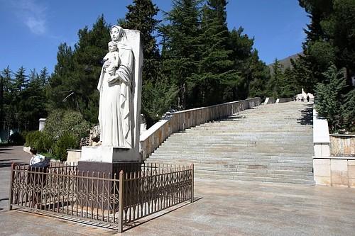 Estacion del via Crucis