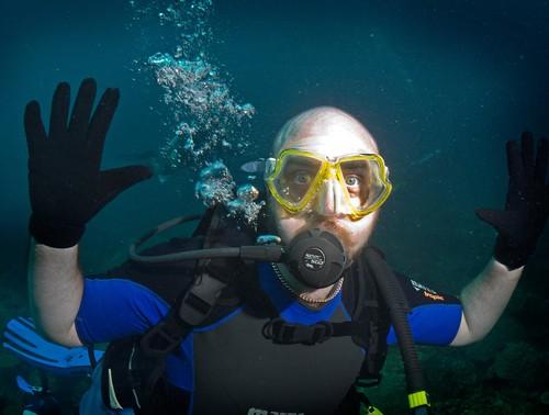 ShaolinTiger Underwater