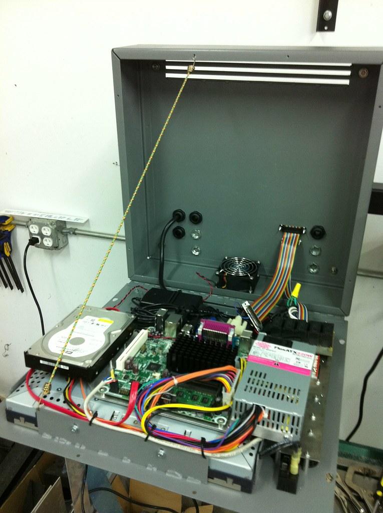 custom CNC controller box