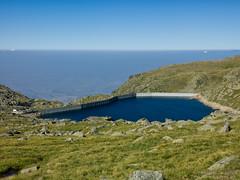 Kalin dam (atphoto.bg) Tags: blue sky mountain lake green nature water view dam bulgaria rila sight kalin