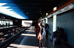 (Casimara) Tags: selfportrait metro autoretrato metrodesantiago toesca