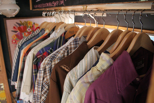 Mens Shirts in the Shop