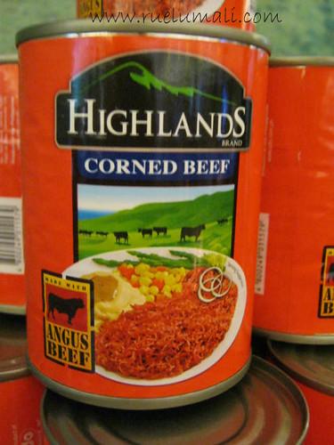 Highlands Corned Beef, Ruel Umali, www.ruelumali.com