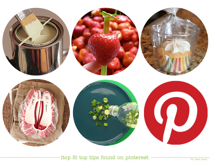{top 5} top tips found on pinterest