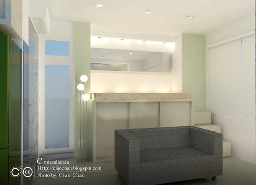 小坪數室內設計-測試Vray 3-05