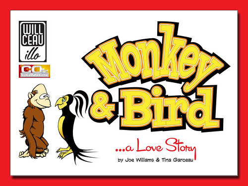 The Monkey & Bird Mini-Comic by willceau