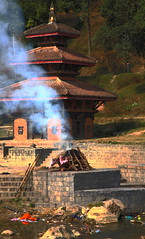 Cremation (AdjaFong) Tags: nepal temple burning cremation verbrennung panauti creativeshotinvited internationalgeographic