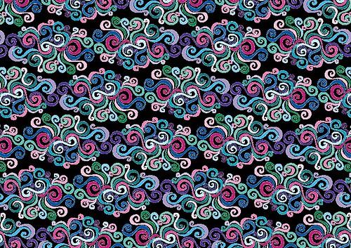 Primeval Swirls Pattern - Copyright R.Weal 2011