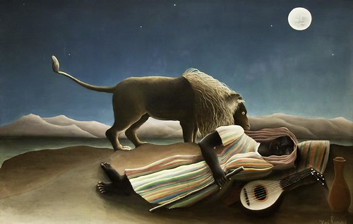 Henri Rousseau: The Sleeping Gypsy by unbearable lightness