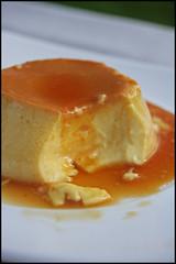 Crème renversée au caramel à l'orange