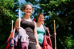 pack mules (norma penner) Tags: camping ontario canada laura jeff water erin sophie holly canoe algonquin norma wilderness colum