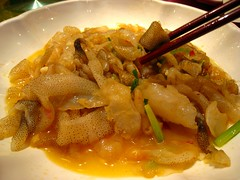 Fried Jellyfish  (MelindaChan ^..^) Tags: china food restaurant yummy jellyfish chinese mel eat meal melinda wuchuan chanmelmel  melindachan
