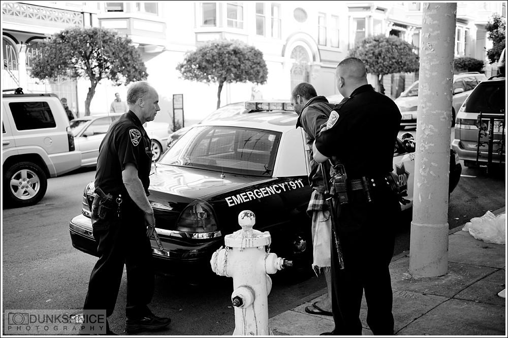 Arrest B&W.