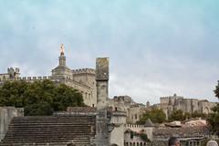 Avignon, Ville Médiévale (Dephine Pbn) Tags: palais monuments avignon rocher palaisdespapes papes doms pontdavignon rocherdesdoms villemédiévale