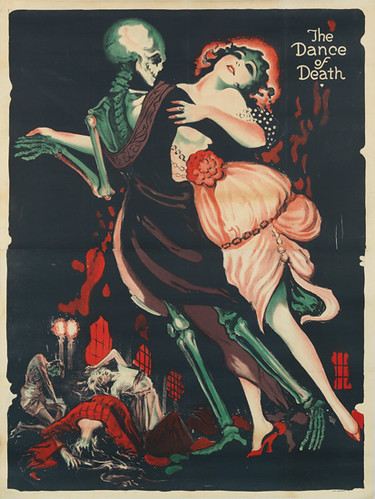 "Josef Fenneker ""The Dance of Death"" 1919 by Art & Vintage"