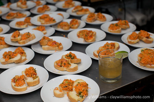 First Seated Course: Kosambri Crostini