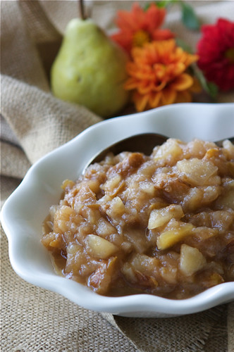 Pear & Ginger Applesauce Recipe