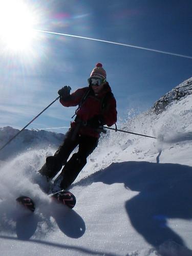 #3 Sliverton First Skiing 9.19.11. Photo Courtesy of Silverton Mountain.