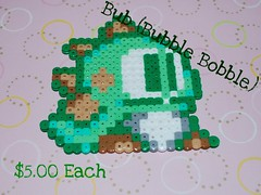 Bub500 (smith2053) Tags: nintendo videogames bub hama perler bubblebobble hamabeads perlerbeads