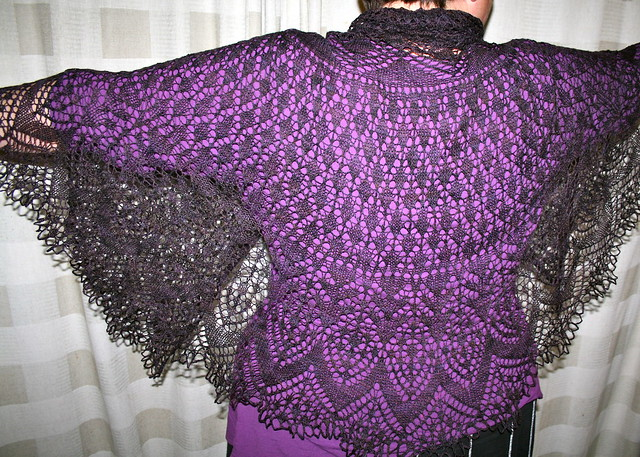 Lulu's Vernal Equinox shawl