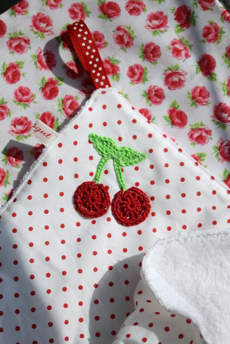 Cherry towel by sewingamelie by liebesgut