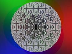 Fractal Apollonian Gasket (fdecomite) Tags: circle packing math fractal gasket povray recursivity tangency apollonian apollonius